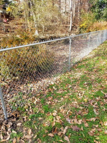 Chain Link Fence Installation Raleigh Durham Chapel